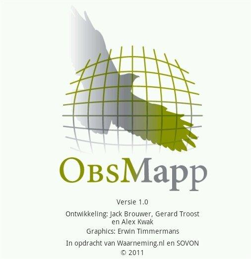 ObsMapp voor Android